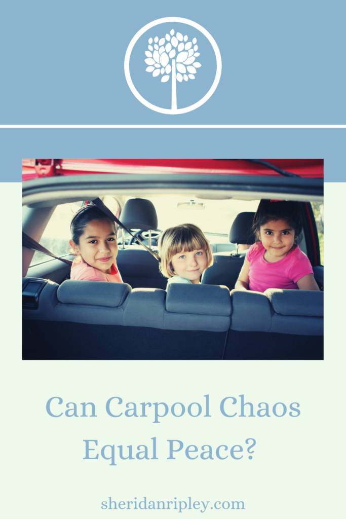 50. How a Traffic Jam with the Carpool Kids Helped Me Find Peace